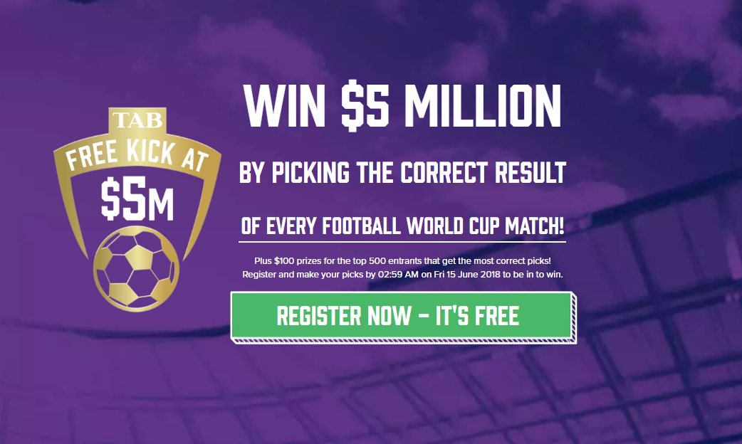 TAB's Free Kick at $5m, powered by NetPotential