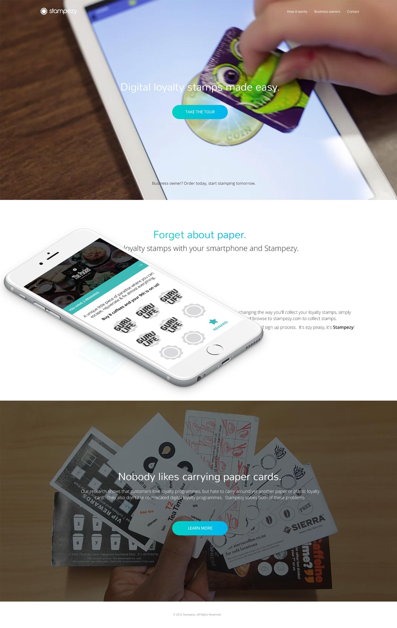 portfolio of website designs and mobile apps